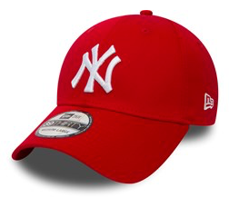 NEW ERA - 39Thirty Cap. NEW YORK YANKEES. Scarlet/White