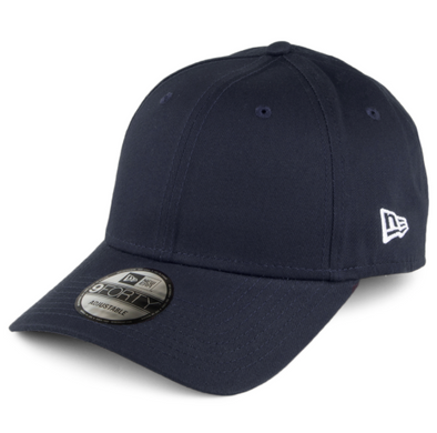 NEW ERA FLAG 9FORTY. BASIC ADJUSTABLE STRAP BACK CAP. NAVY. From PeakNation.co.uk
