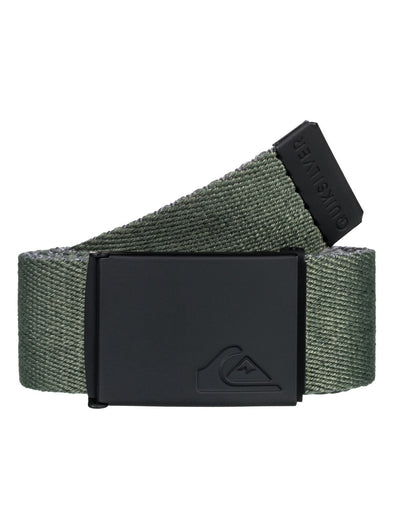 "QUIKSILVER ""THE JAM"" MENS REVERSIBLE BELT. FOREST NIGHT (CSNO)"