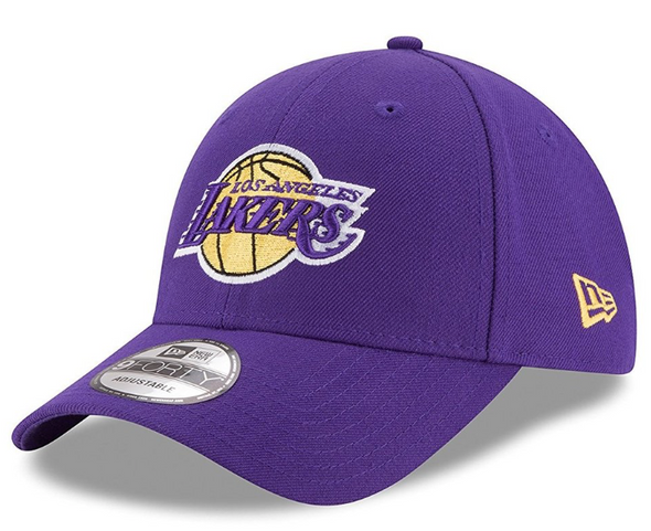 NEW ERA 9FORTY THE LEAGUE NBA CAP. LOS ANGELES LAKERS from peaknation.co.uk