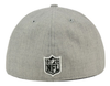 NEW ERA NFL HEATHER 59FIFTY CAP. NEW ENGLAND PATRIOTS from peaknation.co.uk