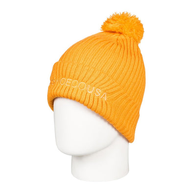 DC SHOES - TRILOGY 2 BEANIE HAT. GOLDEN ROD (YKK0)