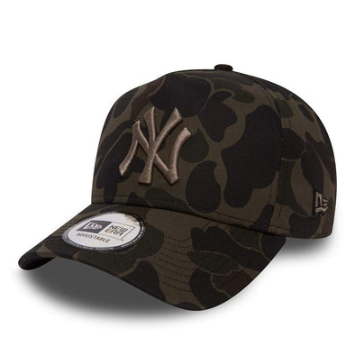 NEW ERA CAMO A FRAME NEW YORK YANKEES CAP from peaknation.co.uk