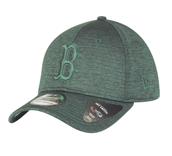 NEW ERA DRY SWITCH 39THIRTY CAP. BOSTON RED SOX. DARK GREEN from peaknation.co.uk