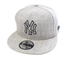 NEW ERA HEATHER ESSENTIAL 9FIFTY CAP. NEW YORK YANKEES. GREY from peaknation.co.uk