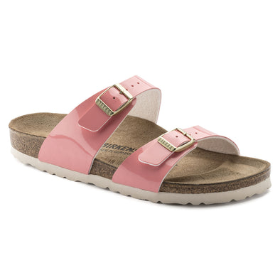 BIRKENSTOCK - WOMENS SYDNEY. REGULAR FIT. TWO TONE CREAM CORAL