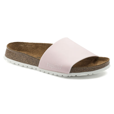BIRKENSTOCK - PAPILLIO WOMENS CORA. NARROW FIT. PASTEL PINK from peaknation.co.uk