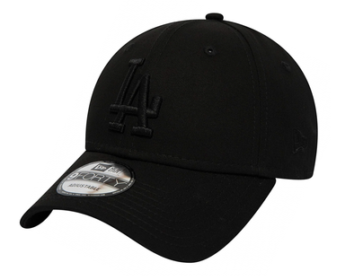NEW ERA - LOS ANGELES DODGERS BLACK ON BLACK 9FORTY SNAPBACK from peaknation.co.uk