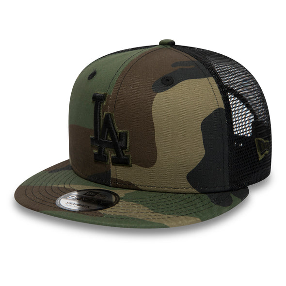 NEW ERA CAP - LOS ANGELES DODGERS CAMO ESSENTIAL 9FIFTY SNAPBACK. From PeakNation.co.uk