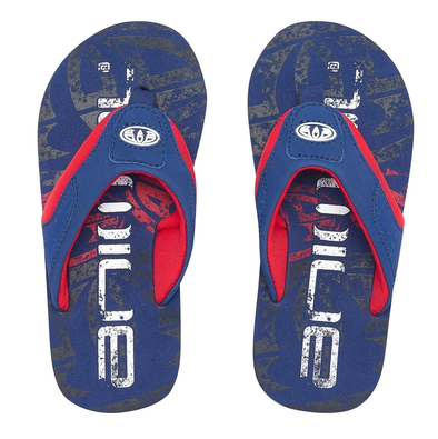 ANIMAL BOYS JEKYL LOGO FLIP FLOPS. NAUTICAL BLUE from peaknation.co.uk