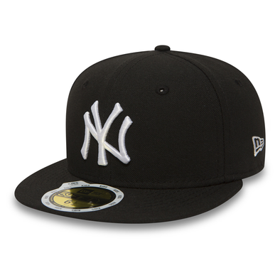NEW ERA NEW YORK YANKEES ESSENTIAL KIDS 59FIFTY FITTED CAP. BLACK. From PeakNation.co.uk