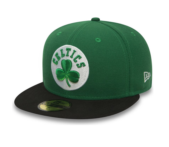 NEW ERA BOSTON CELTICS ESSENTIAL 59FIFTY. GREEN from peaknation.co.uk