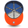 NEW ERA NEW YORK KNICKS ESSENTIAL 59FIFTY. BLUE/ORANGE from peaknation.co.uk