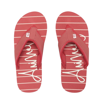 ANIMAL WOMENS SWISH BEACH FLIP FLOPS. STRIPES from peaknation.co.uk