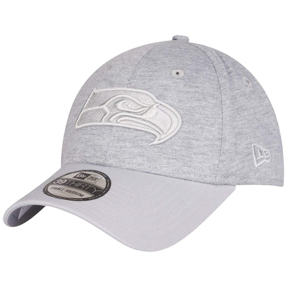 NEW ERA 39THIRTY ESSENTIAL JERSEY SEATTLE SEAHAWKS. GREY from peaknation.co.uk