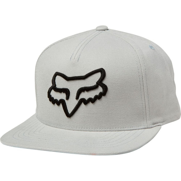 "FOX RACING ""INSTILL"" SNAPBACK CAP. STEEL GREY from peaknation.co.uk"