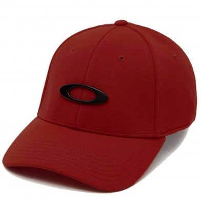 OAKLEY TINCAN CAP. IRON RED from peaknation.co.uk