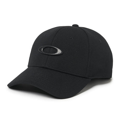 OAKLEY TINCAN CAP. BLACK/CARBON FIBER from peaknation.co.uk