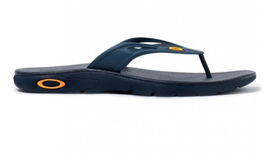 OAKLEY ELLIPSE FLIP. MENS FLIP FLOPS. DARK BLUE