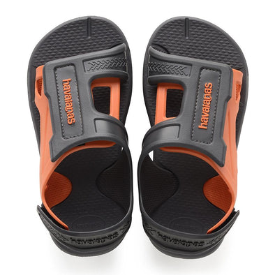 HAVAIANAS KIDS MOVE SANDALS. NEW GRAPHITE from peaknation.co.uk