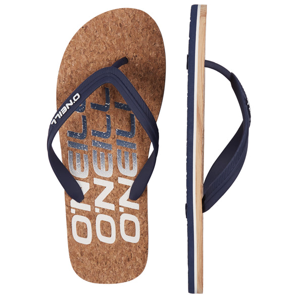O'NEILL PROFILE SANDALS. MENS FLIP FLOPS. BROWN AOP from peaknation.co.uk