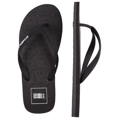 O'NEILL FRICTION SANDALS. MENS FLIP FLOPS. BLACK OUT from peaknation.co.uk
