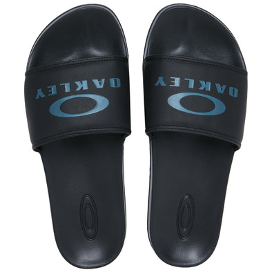 OAKLEY ELLIPSE SLIDE. MENS SLIDERS. BLACK OUT from peaknation.co.uk