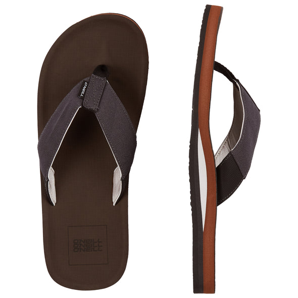 O'NEILL CHAD SANDALS. MENS FLIP FLOPS. TORTOISE SHELL from peaknation.co.uk