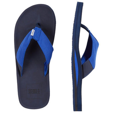 O'NEILL CHAD SANDALS. MENS FLIP FLOPS. INK BLUE from peaknation.co.uk