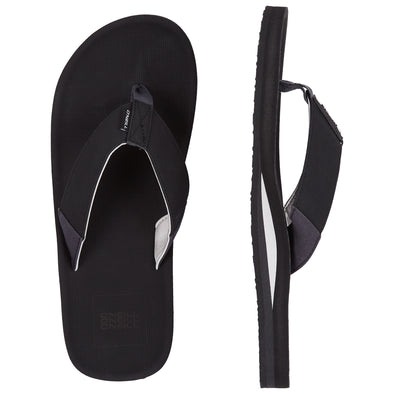O'NEILL CHAD SANDALS. MENS FLIP FLOPS. BLACK OUT from peaknation.co.uk