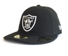 NEW ERA 59FIFTY FITTED CAP. RETRO CROWN LOW PROFILE LAS VEGAS RAIDERS