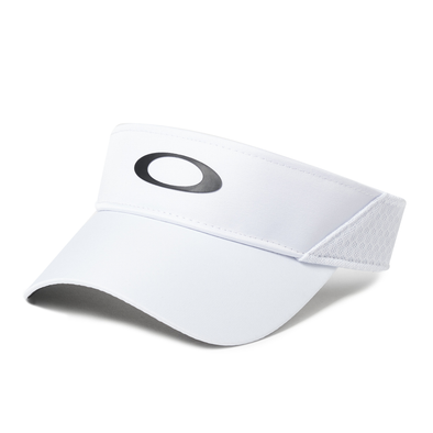 OAKLEY BG GAME VISOR. WHITE from peaknation.co.uk