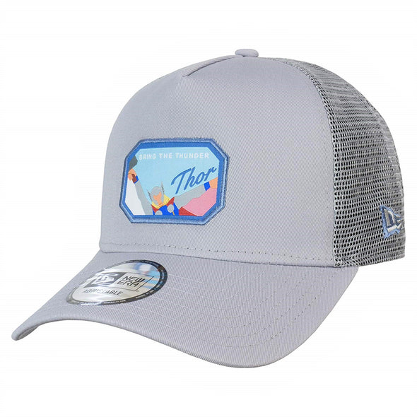 NEW ERA 9FORTY A FRAME TRUCKER. CHARACTER PATCH. THOR
