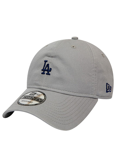 NEW ERA 9TWENTY CAP. TEAM PACKABLE LOS ANGELES DODGERS. GREY from peaknation.co.uk