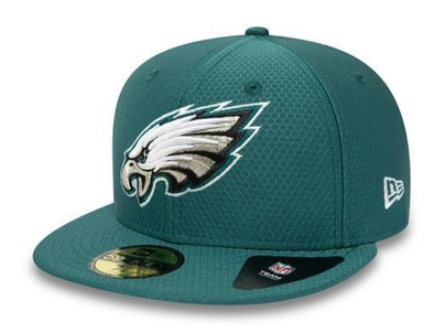 NEW ERA PHILADELPHIA EAGLES HEX ERA GREEN 59FIFTY