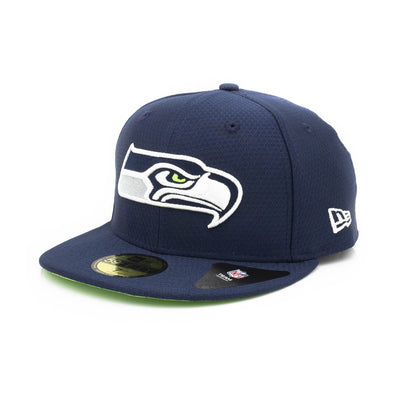 NEW ERA SEATTLE SEAHAWKS HEX ERA NAVY 59FIFTY from peaknation.co.uk
