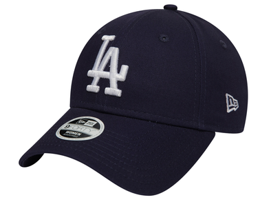 NEW ERA WOMENS LEAGUE ESSENTIAL 9FORTY. LOS ANGELES DODGERS. NAVY from peaknation.co.uk