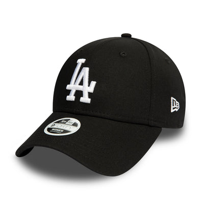 NEW ERA WOMENS LEAGUE ESSENTIAL 9FORTY. LOS ANGELES DODGERS. BLACK from peaknation.co.uk