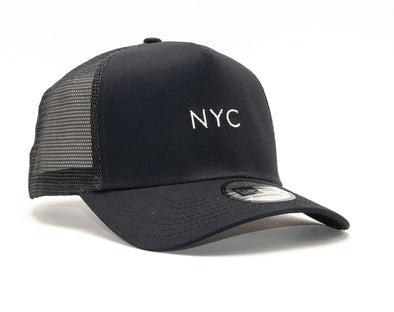 NEW ERA NYC SEASONAL TRUCKER CAP. NAVY from peaknation.co.uk
