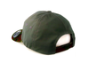 OAKLEY 6 PANEL MILITARY HAT. DARK BRUSH from peaknation.co.uk