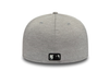 NEW ERA SHADOW TECH 59FIFTY FITTED CAP. NEW YORK YANKEES BASEBALL CAP. GREY/BLACK from peaknation.co.uk