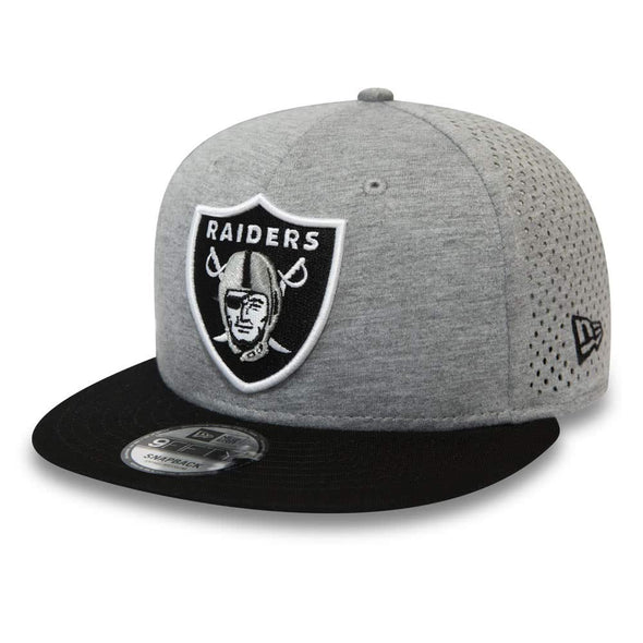NEW ERA SHADOW TECH 9FIFTY SNAPBACK NFL CAP. LAS VEGAS RAIDERS. GREY