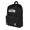 NEW ERA NFL STADIUM BACKPACK. SEATTLE SEAHAWS. BLACK OFFICIAL TEAM COLOURS from peaknation.co.uk
