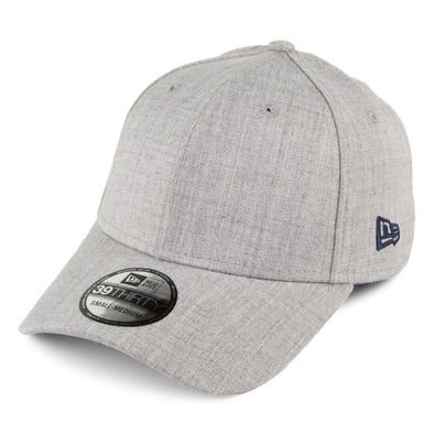 NEW ERA HEATHER 39THIRTY FITTED CAP. GREY from peaknation.co.uk