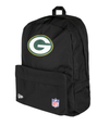 NEW ERA NFL STADIUM BACKACK. GREEN BAY PACKERS. BLACK OFFICIAL TEAM COLOURS from peaknation.co.uk