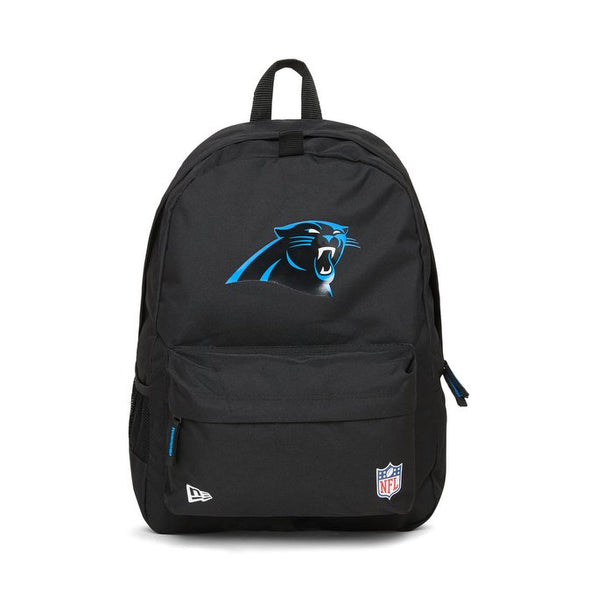 NEW ERA NFL STADIUM BACKPACK. CAROLINA PANTHERS. BLACK OFFICIAL TEAM COLOURS from peaknation.co.uk