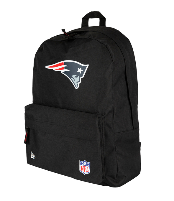 NEW ERA NFL STADIUM BACKPACK. NEW ENGLAND PATRIOTS. BLACK OFFICIAL TEAM COLOURS from peaknation.co.uk