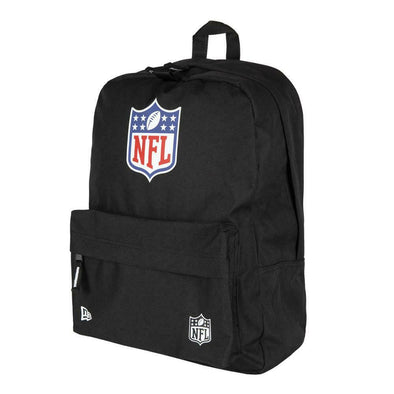 NEW ERA NFL STADIUM BACKPACK. NFL SHIELD. BLACK from peaknation.co.uk