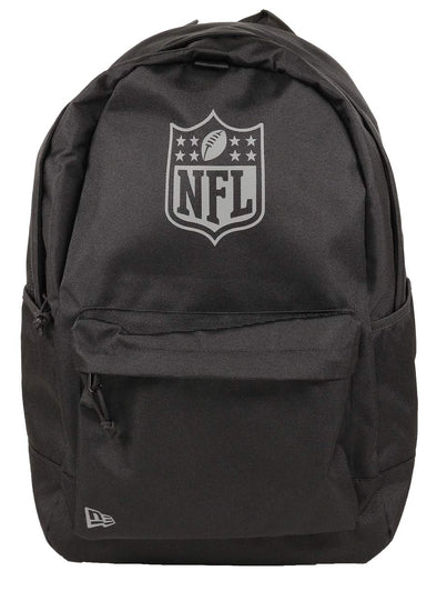 NEW ERA NFL LIGHT PACK NFL SHIELD BACKPACK. BLACK/GRAPHITE from peaknation.co.uk