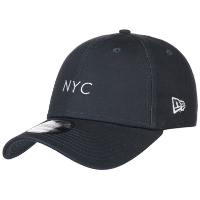 NEW ERA 9FORTY STRAPBACK CAP. NYC SEASONAL. NAVY from peaknation.co.uk